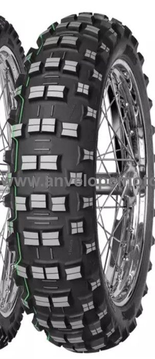 Mitas  TERRA FORCE-EF Super Light TT Rear 140/80-18 70R (dunga verde)